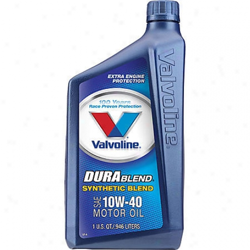 Valvoline Durablend 10w-40 Synthetic Blend Motor Oil (1 Qt.) - 301