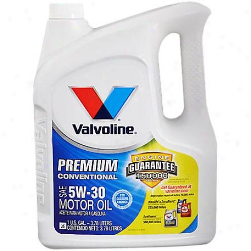 Valvoline Premium 5w-30 Conventional Motor Oil (1 Gallo)n - 122