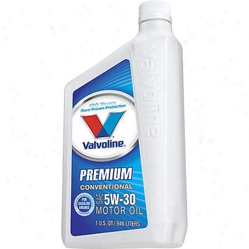 Valfoline Preimum 5w-30 Stipulated Motor Oil (1 Qt.) - 177
