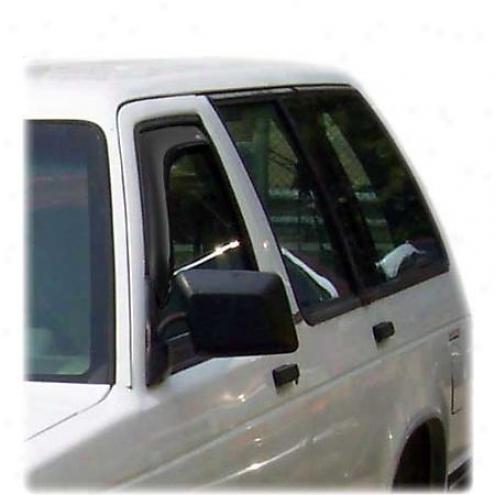 Ventshade Visor - Side Window - Plastic - 192099