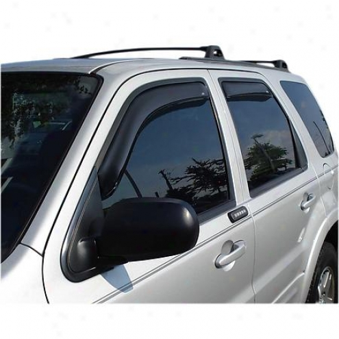 Veentshade Visor - Side Window - Plastic - 194059
