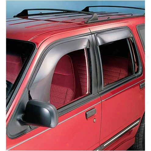 Ventshade Visor - Side Window - Plastic - Wide - 95011