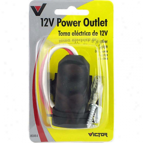 Victor All Weather Divinity Outlet - 12v - V5349
