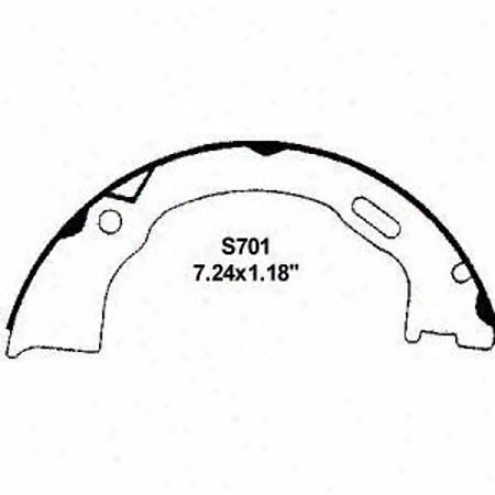 Wagner Brake Pads/shoes - Parking - Pab701