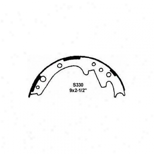 Wagner Thermoquiet Brake Shoe - Pab330