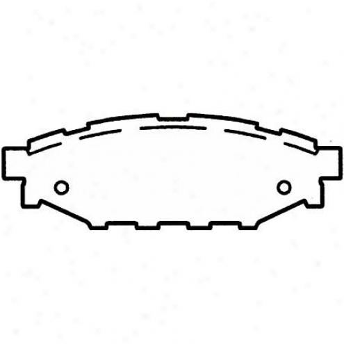 Wwgner Thermoquiet Nao Ceramic Dksc Pad - Pd1114