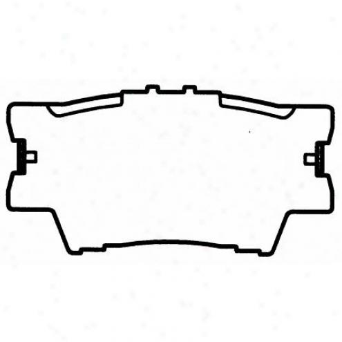 Wagner Thermoquiet Nao Ceramic Disc Pad - Qc1212