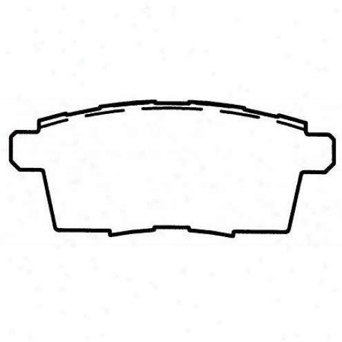 Wagner Thermoquiet Nao Ceramic Disc Pad - Qc1259