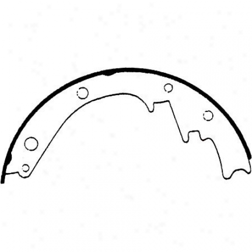 Wagner Thermoquiet Riveted Brake Shoe - Pah473r