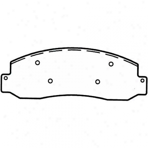 Wagner Thermoquiet Severeduty Disc Pad - Sx1069