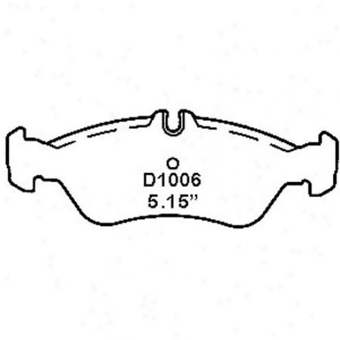 Wearever Gold Brake Pads-gold - Gmkd 1006