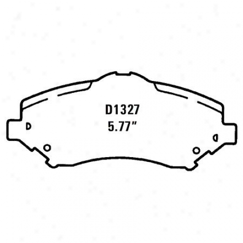 Wearever Gold Brake Pad sGold - Gmkd 1327