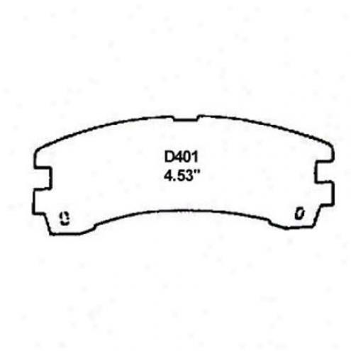 Wearever Gold Brake Pads-gold - Gmkd 401