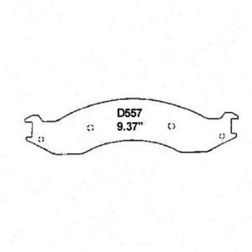 Wearever Gold Brake Pads-gold - Gmkd 557