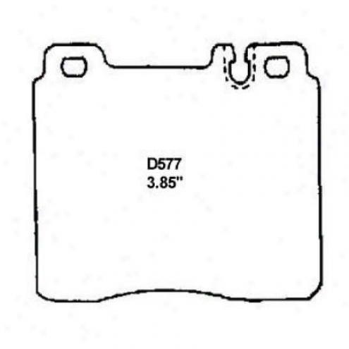 Wearever Gold Brake Pads-gold - Gmkd 577