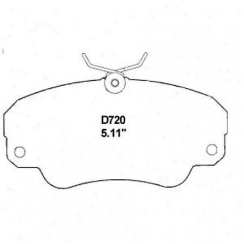 Wearever Gold Brake Pads-gold - Gmkd 720