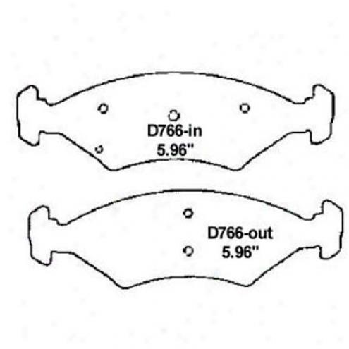 Wearever Gpld Brake Pads-gkld - Gmkkd 766