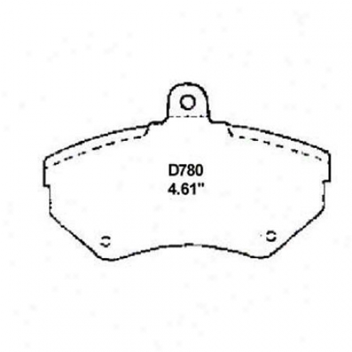 Wearever Gold Brake Pads-gold - Gmkd 780