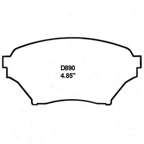 Wearever Gold Brake Pads-gold - Gmkd 890