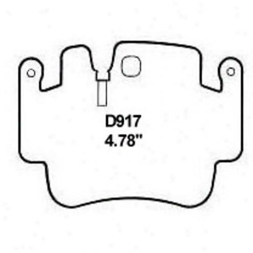 Wearever Gold Brake Pads-gold - Gmkd 917