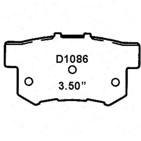 Wearever Gold Brake Pads-gold - Gnad 1086