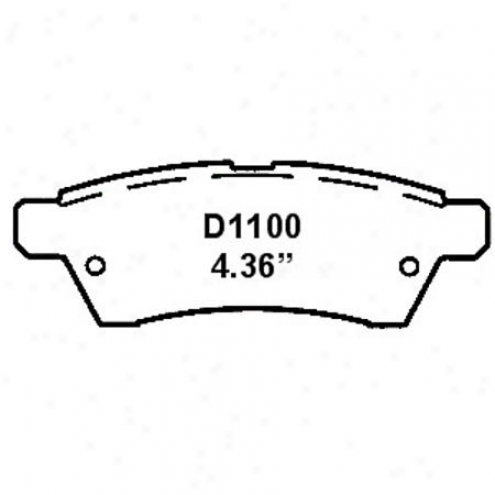 Wearever Gold Brake Pads-g0ld - Gnad 1100