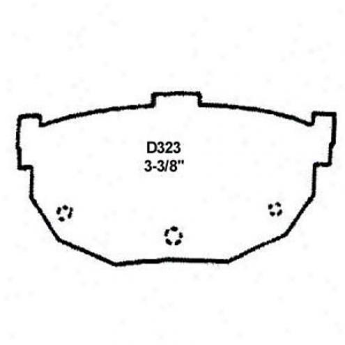 Wearever Gold Brake Pads-gold - Gnad 323