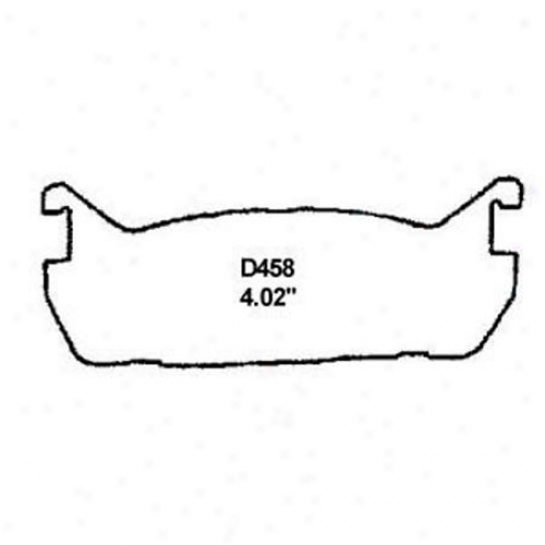 Wearever Gold Brake Pads-gold - Gnad 458