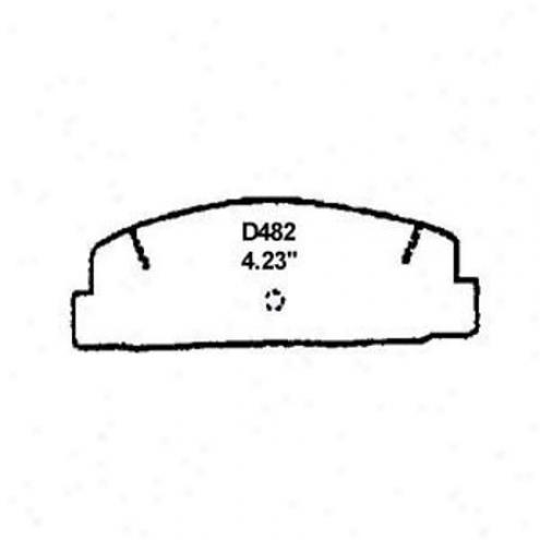 Wearever Gold Brake Pads-gold - Gnad 482