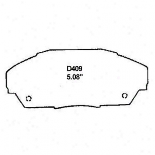 Wearever Gold Brake Pads/shoes - Front - Gmkd 409