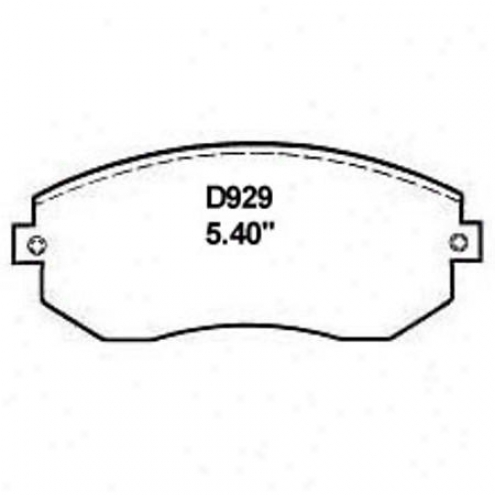 Wearever Gold Brake Pads/shoes - Front - Gmkd 9299