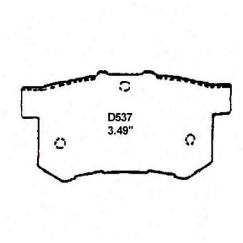Wearever Gold Brake Pads/shoes - Bring up - Gnad 537/gnad 5