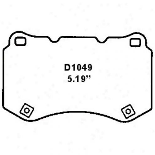 Wearever White Brake Pad - Mkd 1049/mkd 10