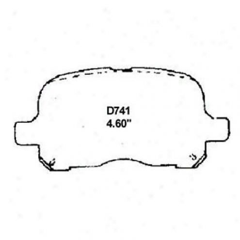 Wearever Silver Brake Pad - Mkd 741/mkd 741