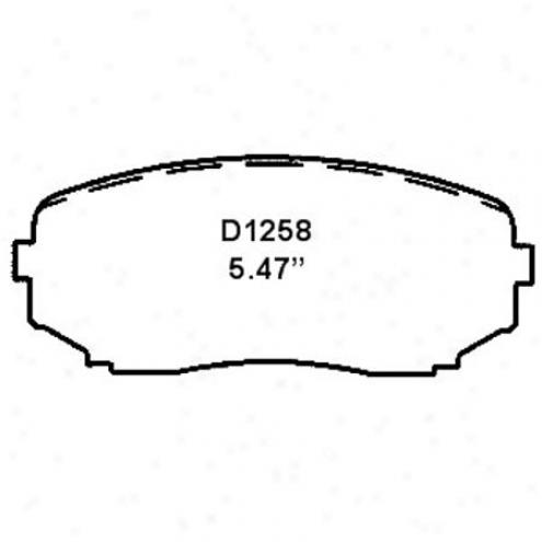 Wearrever Silver Brake Pad - Nad 1258/nad 12