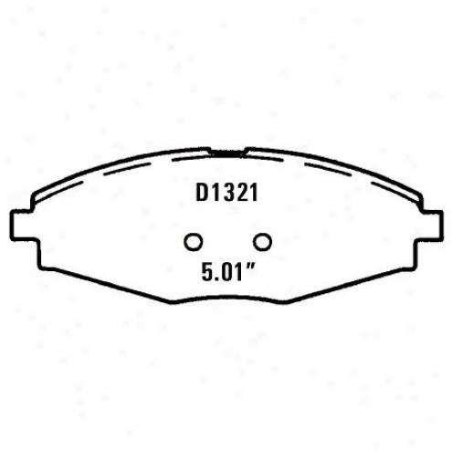 Wearever Silver Brake Pads Silve - Nad 1321