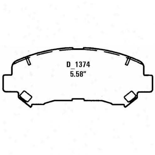 Wearever Silver Brake Pads Silvet - Nad 1374