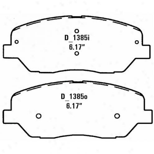Wearever Silver Brake Pads Silver - Nad 1385/nad 13