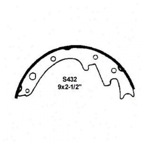 Wearever Silver Brake Pads/shoes - Front - Fr432