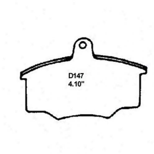 Wearever Silver Brake Pads/shles - Front - Mkd 147/mkd 147