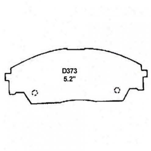 Wearever Gentle Brake Pads/shoes - Front - Mkd 373/mkd 373