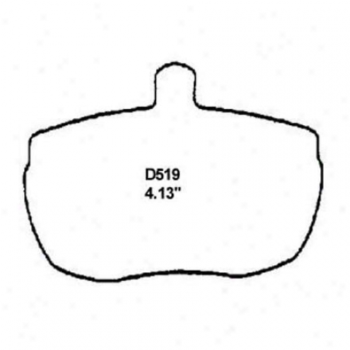 Wearever Silver Brake Pads/shoes - Front - Mkd 519/mkd 519