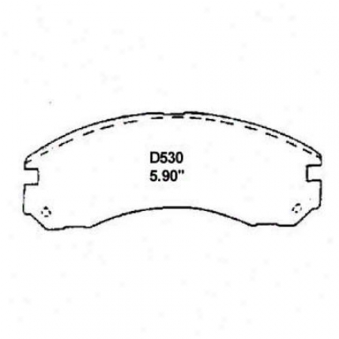 Wearever Silver Brake Pads/shoes - Front - Mkd 530