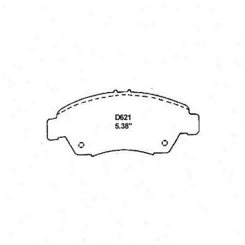 Wearever Silver Brake Pads/shoes - Front - Mkd 621