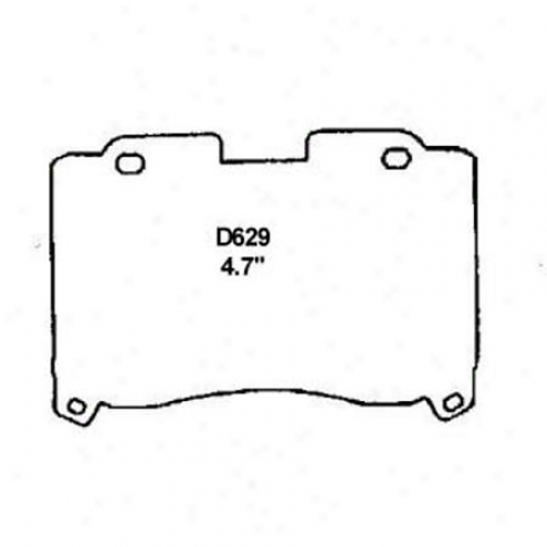 Wearever Silver Brake Pads/shoes - Front - Mkd 629/mkd 629