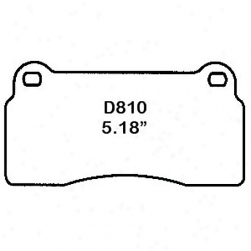 Wearever Silver Brake Pads/shoes - Front - Mkd 810