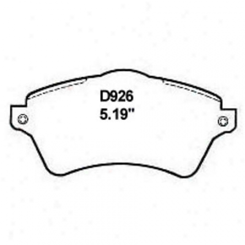 Wearever Silver Brake Pads/shoes - Front - Mkd 926