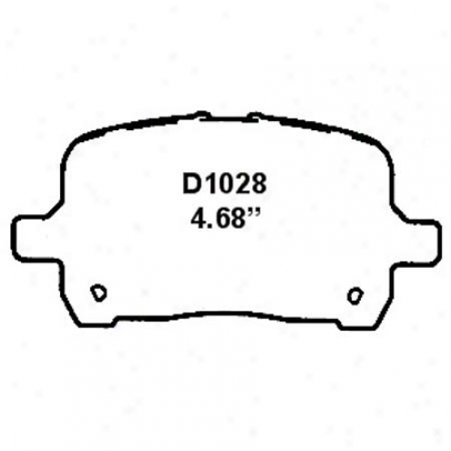 Wearever Silver Brake Pads/shoes - Front - Nad 1028