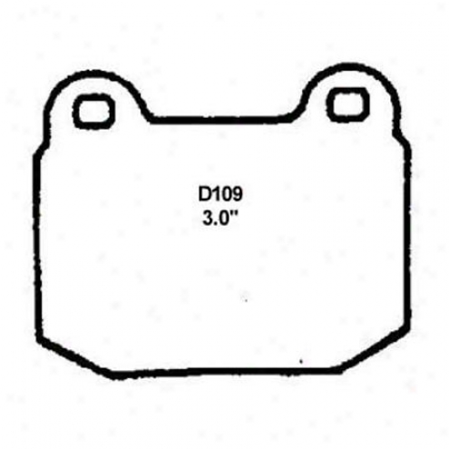Wearever Silver Brake Pads/shoes - Front - Nad 109/nad 109