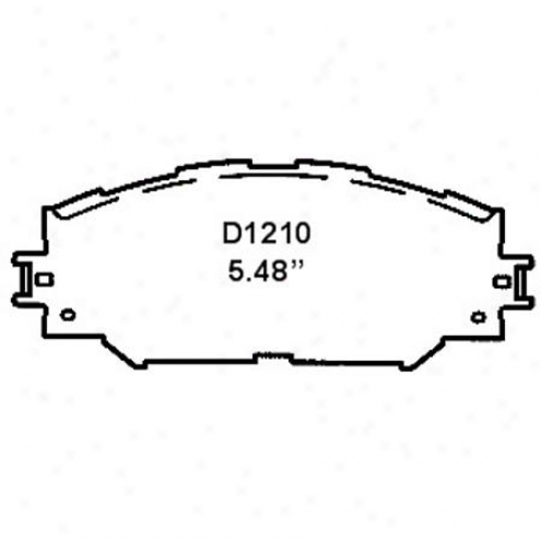 Wearever Silver Brake Pads/shoes - Front - Nad 1210/nad 12
